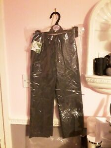 BNWT BHS Girls School Teflon Coated Trousers Age 5 110cm 2 Pairs Charcoal Grey