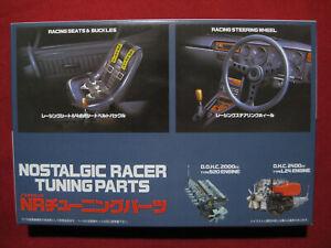 Nostalgic Racer Tuning Parts S20 L24 Engine Accessory Set Model Kit 1/24 Fujimi