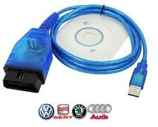 VAGCOM OBD ODB2 OBD2 KKL USB 409.1 + SOFTS - VAG COM SCAN DIAG VOITURE