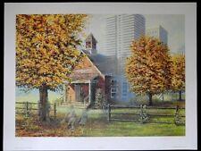 "Children-Farm Scene-""Days Gone By""-James Lumbers-L/E-S/N-Lithograph-Art- Prints"