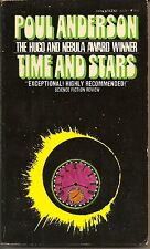 TIME AND STARS BY POUL ANDERSON PAPERBACK