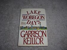 LAKE WOBEGON DAYS by Garrison Keillor/1st Ed./HCDJ/Biography