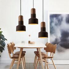 Modern Pendant Light Office Kitchen Chandelier Lighting Home Wood Ceiling Lights