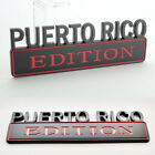 """7"""" LARGE PUERTO RICO EDITION Truck Emblem Logo Decal BLACK HIGH QUALITY <br/> Adhesive Back ( 7"""" x 2.5"""" ) - Genuine - BEST Quality!"""