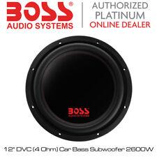 "BOSS Audio Phantom - 12"" DVC (4 OHM) AUTO SUBWOOFER BASS 2600W"