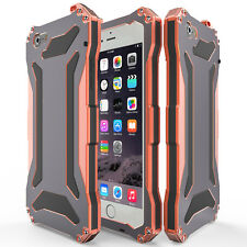 Slim Shockproof Aluminum Glass Metal Case Cover for iPhone 5s 6s Plus 7 8