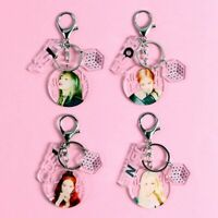 Kpop BLACKPINK In Your Area Figure Keychain Key Ring Album Photo Pendant sdRQv