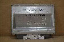 2002 Lincoln LS Engine Control Module OEM 2W4A12A650DE ECU 29 9N5