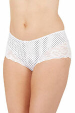 Polyester Plus Size Spotted Knickers for Women