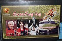 "MALDIVE MALDIVES 2004 ""CALCIO SPORT EUROCUP FOOTBALL""NUOVO MNH** BLOCK (CAT.J)"