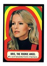 Topps 1978 Charlie's Angels Series 4 Sticker Card #41 Kris, The Rookie Angel