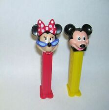 Disney Mickey and Minnie Mouse Pez Dispensers