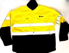 x2 Bisley Work Wear Shirts x1 Overalls Coveralls Safety Wear Hi-Vis 2XL Mens XXL