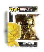 Funko Pop! Marvel Studio 10th Anniversary Gold Chrome Ant-Man #384 Bobble-Head