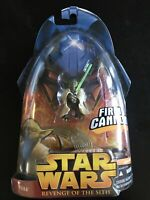 Star Wars Revenge of the Sith Yoda Action Figure 3 - NEW! Firing Cannon!