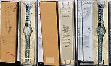 SWATCH ARTIST'S COLLECTION limited edition GK271 TIME 4 LAURA GRISI NUOVO + box