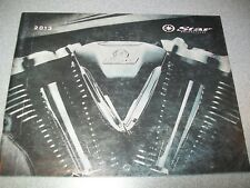 Yamaha 2013 Star Motorcycle Brochure VMAX Raider Stryker VSTAR Royal Road ++