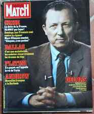PARIS MATCH Gainsbourg Acaries Platini Dallas Delors