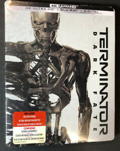 Terminator Dark Fate [ Limited Edition STEELBOOK ] (4K Ultra HD + Blu-ray) NEW