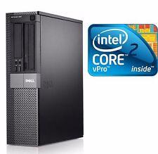 Dell Optiplex PC COMPUTER DESKTOP C2D 4GB Ram 500GB HD NO OS