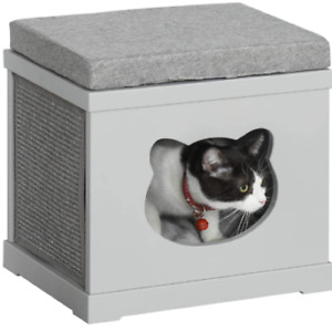 Cat House Bed Cat Scratching Cube for Small Cat Pet Furniture Scratching Pad