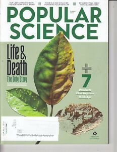 Popular Science Magazine Summer 2018 Life & Death: The Only Story - food