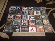 30 NEW & Sealed CD Lot - Rap Hip Hop R&B Underground Gangsta Rap - Rare