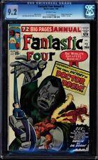 Fantastic Four Annual #2 Cgc 9.2 Origin Of Dr. Doom Cgc #1174790005