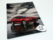 2014 Mazda 3 GX GS GS-SKY GT AJAC Award Winner Brochure