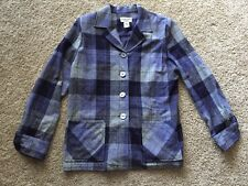 Pendleton Genuine 49'er Limited Edition #07174 Plaid Sweater 100% Virgin Wool