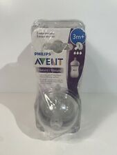 LOT OF 8 Philips Avent 3m+ Medium Flow Natural Baby...