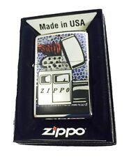 Zippo Custom Lighter Vintage Car Fusion Design High Polish Chrome New Gift USA
