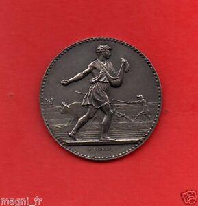 Médaille de table en argent - J. LAGRANGE - Ministère de l'Agriculture