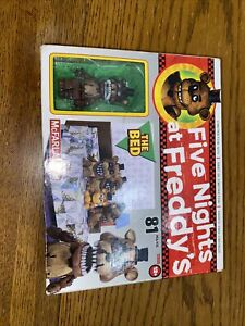Five Nights At Freddy's The Bed Construction Set 12038 Nightmare Freddy (NIB)