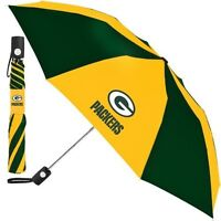 GREEN BAY PACKERS ~ Official NFL 42 Inch Standard Size Rain Umbrella ~ New!