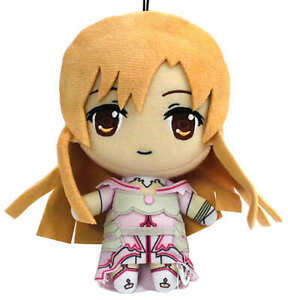 SEGA Sword Art Online Asuna 15cm plush stuffed doll Japan anime Limited 5