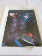 1998 The Franklin Mint Star Trek The Federation's Final Stand Collector Plate