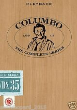 COLUMBO COMPLETE SERIES 1 2356789 10 DVD COLLECTION BOX SET colombo colambo UK x