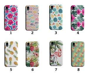 Hawaii Phone Case Cover Hawaiian Leaves Lily Lei Flowers Flamingo Paradise 8209C