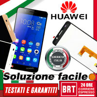 DISPLAY LCD+TOUCH SCREEN per HUAWEI HONOR 6 H60-L01 L02 L04 SCHERMO VETRO_24H!!!