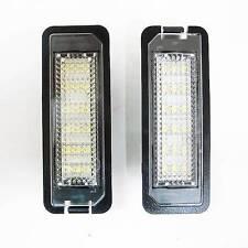 License Number Plate Lights E4 18 Leds Set Fits Vw Golf 4 Eos Passat Lupo Beetle