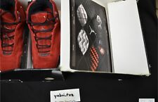 2005 Air Jordan 21 XXI Red Suede sz 9 Nike October Yeezy Raging Bull 5 Toro 4