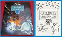 Doctor Who: The Gallifrey Chronicles SIGNED by MAUREEN O'BRIEN, PETER PURVES +2!