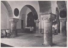 D3643 France - Saorgio - Madonna del Poggio - Interno - Stampa - 1940 old print