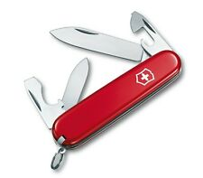 NEW VICTORINOX SWISS ARMY POCKET KNIFE RECRUIT RED 84 MM 53241 / 0.2503-033-X1