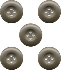 US M65 PARKA / FIELD JACKET / BDU BUTTONS X 5 Olive Drab Replacement Buttons