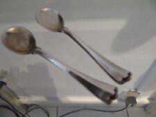 2 pelles à sel argent 800 (800 silver 2 salt spoons) trilobé