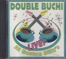 Double Buchi Live At Boston Billy's Blues CD FASTPOST