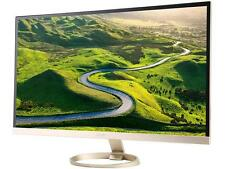 """Acer H7 Series H277HU kmidpx 27"""" Gold LED Monitor, 2560 x 1440, 16:9, 100,000,00"""