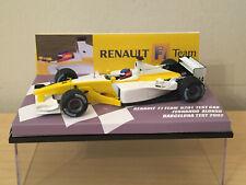 1/43 MINICHAMPS RENAULT F1 TEAM R201 F ALONSO TEST CAR BARCELONA 2002 WHITE BODY